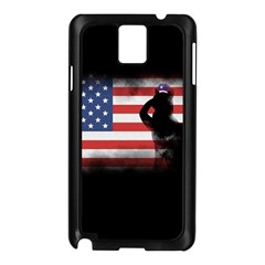 Honor Our Heroes On Memorial Day Samsung Galaxy Note 3 N9005 Case (black) by Catifornia