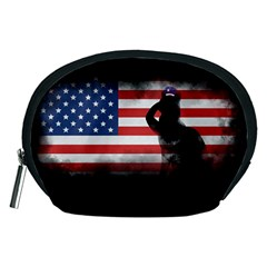 Honor Our Heroes On Memorial Day Accessory Pouches (medium)  by Catifornia