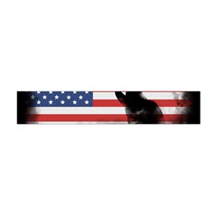 Honor Our Heroes On Memorial Day Flano Scarf (mini) by Catifornia