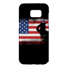 Honor Our Heroes On Memorial Day Samsung Galaxy S7 Edge Hardshell Case by Catifornia