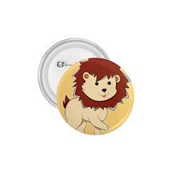 Happy Cartoon Baby Lion 1 75  Buttons by Catifornia