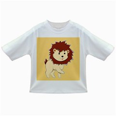 Happy Cartoon Baby Lion Infant/toddler T Shirts by Catifornia