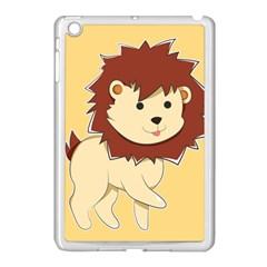 Happy Cartoon Baby Lion Apple Ipad Mini Case (white) by Catifornia