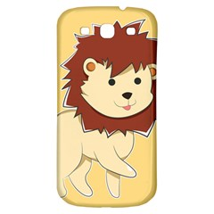 Happy Cartoon Baby Lion Samsung Galaxy S3 S Iii Classic Hardshell Back Case by Catifornia