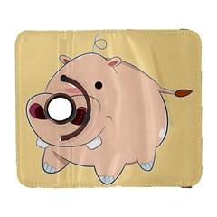 Happy Cartoon Baby Hippo Galaxy S3 (flip/folio) by Catifornia