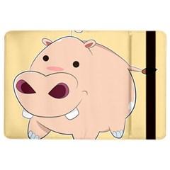 Happy Cartoon Baby Hippo Ipad Air 2 Flip by Catifornia