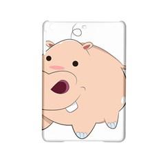 Happy Cartoon Baby Hippo Ipad Mini 2 Hardshell Cases by Catifornia