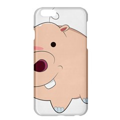 Happy Cartoon Baby Hippo Apple Iphone 6 Plus/6s Plus Hardshell Case by Catifornia
