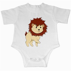Happy Cartoon Baby Lion Infant Creepers by Catifornia