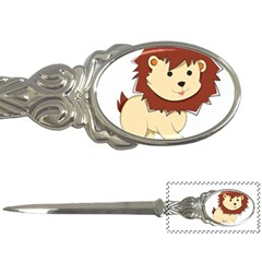 Happy Cartoon Baby Lion Letter Openers by Catifornia