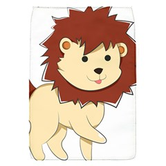 Happy Cartoon Baby Lion Flap Covers (s)  by Catifornia