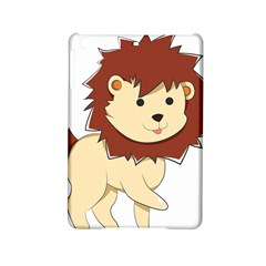 Happy Cartoon Baby Lion Ipad Mini 2 Hardshell Cases by Catifornia