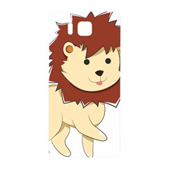 Happy Cartoon Baby Lion Samsung Galaxy Alpha Hardshell Back Case by Catifornia