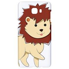 Happy Cartoon Baby Lion Samsung C9 Pro Hardshell Case  by Catifornia