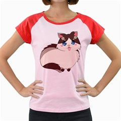 Ragdoll Cat For Life Women s Cap Sleeve T Shirt by Catifornia