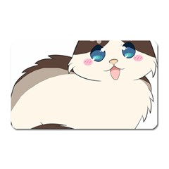 Ragdoll Cat For Life Magnet (rectangular) by Catifornia