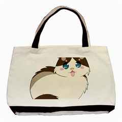 Ragdoll Cat For Life Basic Tote Bag by Catifornia