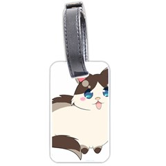 Ragdoll Cat For Life Luggage Tags (two Sides) by Catifornia