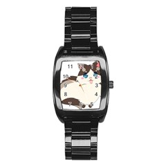 Ragdoll Cat For Life Stainless Steel Barrel Watch by Catifornia