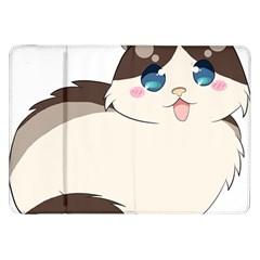 Ragdoll Cat For Life Samsung Galaxy Tab 8 9  P7300 Flip Case by Catifornia