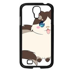 Ragdoll Cat For Life Samsung Galaxy S4 I9500/ I9505 Case (black) by Catifornia