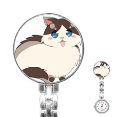 Ragdoll Cat For Life Stainless Steel Nurses Watch by Catifornia
