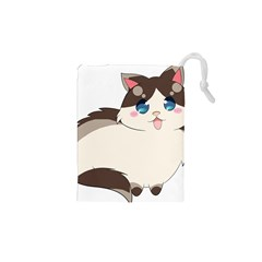 Ragdoll Cat For Life Drawstring Pouches (xs)  by Catifornia