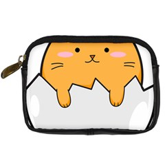 Yellow Cat Egg Digital Camera Cases by Catifornia