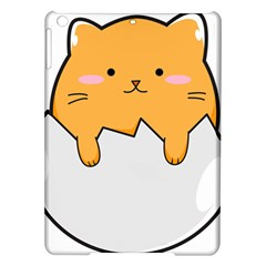 Yellow Cat Egg Ipad Air Hardshell Cases by Catifornia
