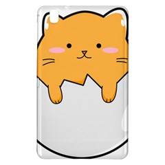 Yellow Cat Egg Samsung Galaxy Tab Pro 8 4 Hardshell Case by Catifornia
