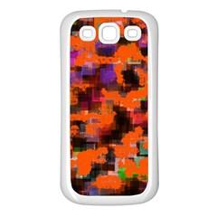 Orange texture            Samsung Galaxy S7710 Xcover 2 Hardshell Case by LalyLauraFLM