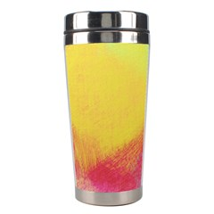 Textured Paint                   Stainless Steel Travel Tumbler by LalyLauraFLM