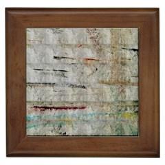 Dirty Canvas                    Framed Tile by LalyLauraFLM
