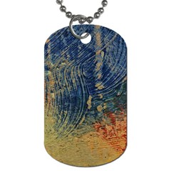 3 Colors Paint                    Dog Tag (one Side) by LalyLauraFLM
