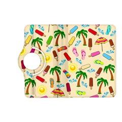 Beach Pattern Kindle Fire Hd (2013) Flip 360 Case by Valentinaart