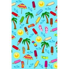 Beach Pattern 5 5  X 8 5  Notebooks by Valentinaart