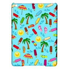 Beach Pattern Ipad Air Hardshell Cases by Valentinaart