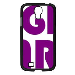 Migraine Warrior With Ribbon Samsung Galaxy S4 I9500/ I9505 Case (black) by MigraineursHideout