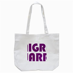 Migraine Warrior With Ribbon Tote Bag (white) by MigraineursHideout