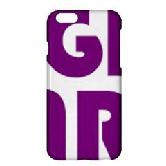 Migraine Warrior With Ribbon Apple Iphone 6 Plus/6s Plus Hardshell Case by MigraineursHideout