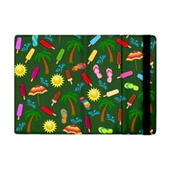 Beach Pattern Ipad Mini 2 Flip Cases by Valentinaart