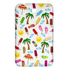 Beach Pattern Samsung Galaxy Tab 3 (7 ) P3200 Hardshell Case  by Valentinaart