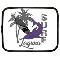 Surf   Laguna Netbook Case (xxl)  by Valentinaart