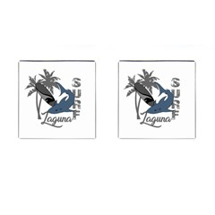 Surf   Laguna Cufflinks (square) by Valentinaart