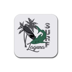 Surf   Laguna Rubber Coaster (square)  by Valentinaart
