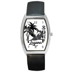 Surf   Laguna Barrel Style Metal Watch by Valentinaart