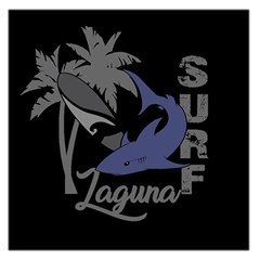 Surf   Laguna Large Satin Scarf (square) by Valentinaart