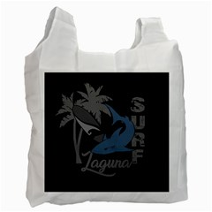 Surf   Laguna Recycle Bag (one Side) by Valentinaart
