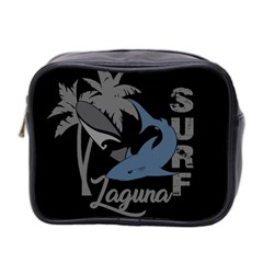 Surf   Laguna Mini Toiletries Bag 2 Side by Valentinaart