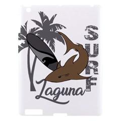 Surf   Laguna Apple Ipad 3/4 Hardshell Case by Valentinaart